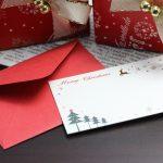 本物のサンタさんからお手紙が届きます!家族や友達と素敵なクリスマスにしませんか?