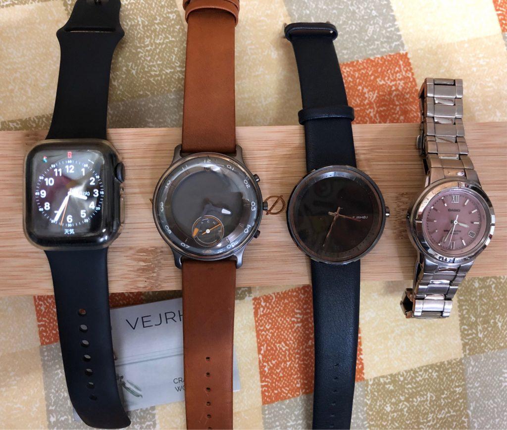 VEJRHOJ(ヴェアホイ)とその他腕時計